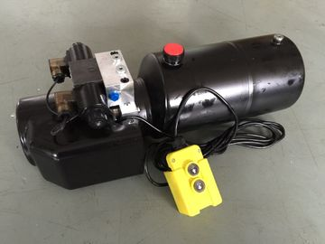Motopropulsores hidráulicos elétricos à prova de explosões do tanque 8L de aço para os cilindros ativos dobro