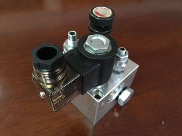 distribuidores hidráulicos de alumínio do bloco de 120mm/de 123mm para o sistema hidráulico do elevador
